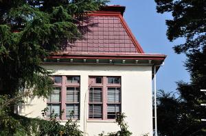 日本獣医生命科学大学本館左翼南面2階