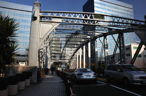 南高橋に着く