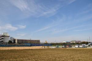 幼稚園の塔遠景