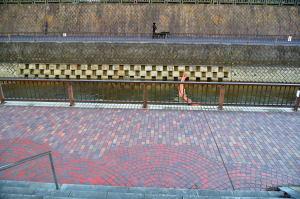 石神井川を石神井公園から高野台に向かって歩く