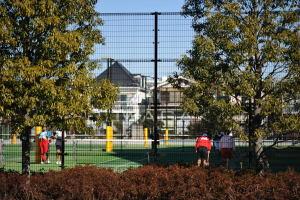 昭和学院のテニスコート