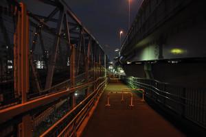 清砂大橋を渡り終えたら西葛西駅は近い