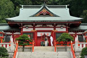 織姫神社の拝殿