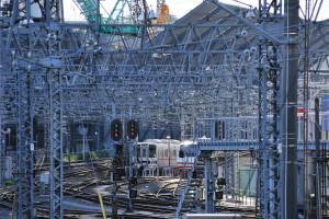 その展望台は東京スカイツリー用なのでドキドキしながら東武線を撮る