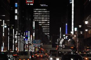 日本橋から中央通り神田方面