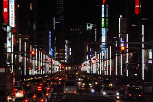 日本橋から中央通り京橋方面