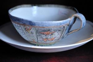 紅茶の香りを楽しんで見たくなるカップ