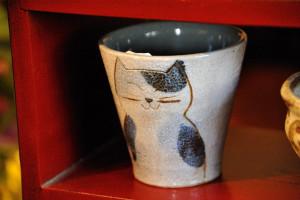 猫のカップ