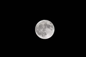 満月を撮る