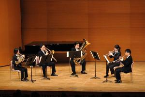 金管五重奏:序奏とアレグロ