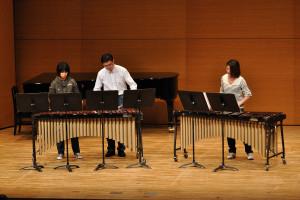打楽器三重奏:きらきら星、ピアノソナタkv545第一楽章(モーツアルト)