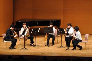 サックス五重奏:サキソフォーン四重奏より第4楽章(サンジュレー)