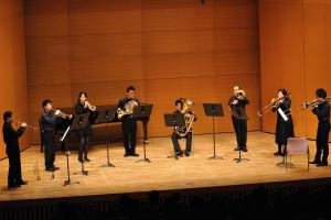 金管八重奏:ニューヨークのロンドン人よりラジオシティー(パーカー)