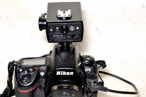 Nikon ML-1 RECEIVER を D700に付けたところ