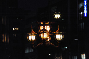 日本橋の街灯