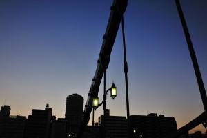 清洲橋街灯