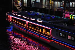 浅草橋から屋形船