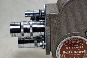 Bell & Howell 134 8mm Cine Movie Camera