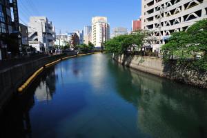 大岡川長者橋