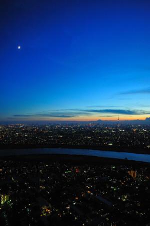 月富士スカイツリー