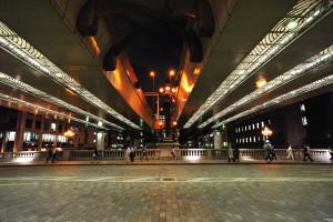 お江戸日本橋夜景