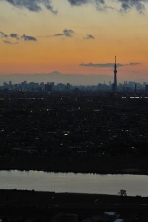 富士にスカイツリー