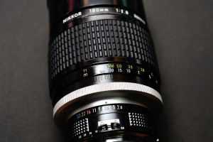 Ai Nikkor 180mm F2.8