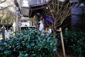 茶の木神社布袋尊