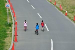江戸川のサイクリングロード