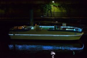 そのボートの横顔