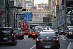 中央通日本橋から神田方面