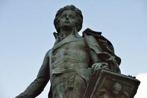 モーツアルト像