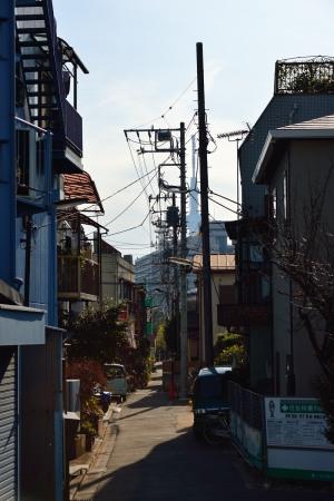 隅田水門の近くから