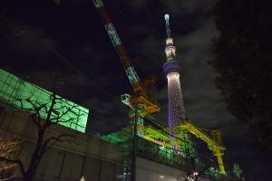 業平橋ポンプ場とTST