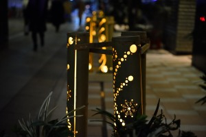 Bamboo lanterns, Muromachi Nihonbashi