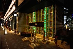 COREDO Muromachi Bamboo lighting