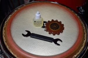 Tuning my congas
