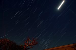 Night airplanes