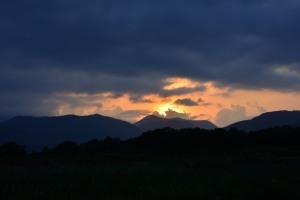 Sunset on Saturday