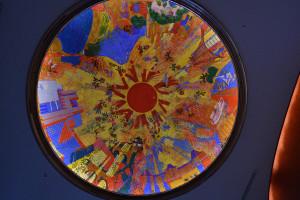Tokyo arts theater 5 floor ceiling.